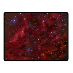 Abstract Fantasy Color Colorful Double Sided Fleece Blanket (small)