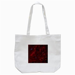 Abstract Fantasy Color Colorful Tote Bag (white)