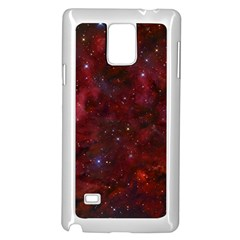 Abstract Fantasy Color Colorful Samsung Galaxy Note 4 Case (white)