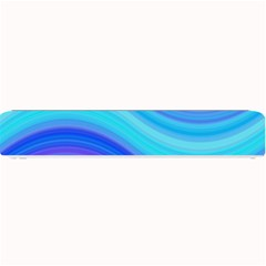 Blue Background Water Design Wave Small Bar Mats