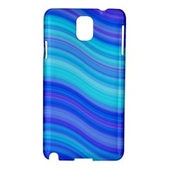 Blue Background Water Design Wave Samsung Galaxy Note 3 N9005 Hardshell Case