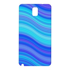 Blue Background Water Design Wave Samsung Galaxy Note 3 N9005 Hardshell Back Case