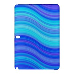Blue Background Water Design Wave Samsung Galaxy Tab Pro 12 2 Hardshell Case