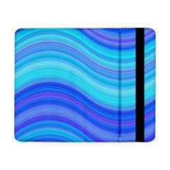 Blue Background Water Design Wave Samsung Galaxy Tab Pro 8 4  Flip Case
