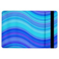 Blue Background Water Design Wave Ipad Air Flip