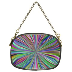 Burst Colors Ray Speed Vortex Chain Purses (two Sides)