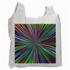 Burst Colors Ray Speed Vortex Recycle Bag (one Side)