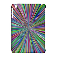 Burst Colors Ray Speed Vortex Apple Ipad Mini Hardshell Case (compatible With Smart Cover)