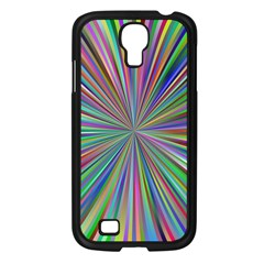 Burst Colors Ray Speed Vortex Samsung Galaxy S4 I9500/ I9505 Case (black)
