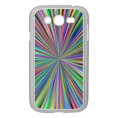 Burst Colors Ray Speed Vortex Samsung Galaxy Grand Duos I9082 Case (white)