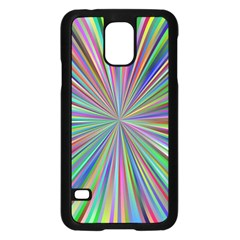 Burst Colors Ray Speed Vortex Samsung Galaxy S5 Case (black)