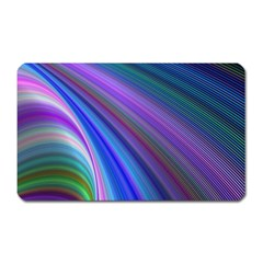Background Abstract Curves Magnet (rectangular)