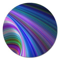 Background Abstract Curves Magnet 5  (round)