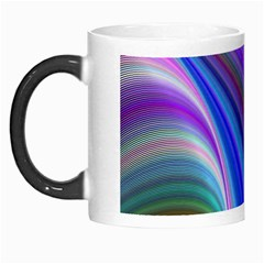 Background Abstract Curves Morph Mugs