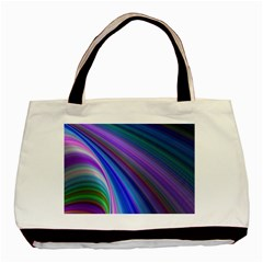 Background Abstract Curves Basic Tote Bag