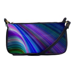Background Abstract Curves Shoulder Clutch Bags