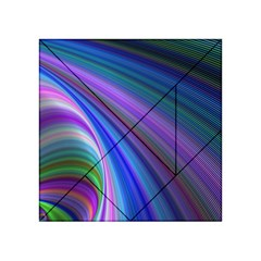 Background Abstract Curves Acrylic Tangram Puzzle (4  X 4 )