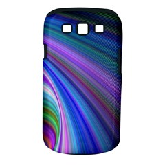 Background Abstract Curves Samsung Galaxy S Iii Classic Hardshell Case (pc+silicone)
