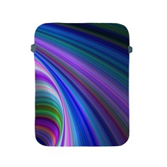 Background Abstract Curves Apple Ipad 2/3/4 Protective Soft Cases