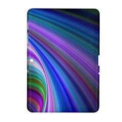 Background Abstract Curves Samsung Galaxy Tab 2 (10 1 ) P5100 Hardshell Case