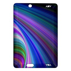 Background Abstract Curves Amazon Kindle Fire Hd (2013) Hardshell Case