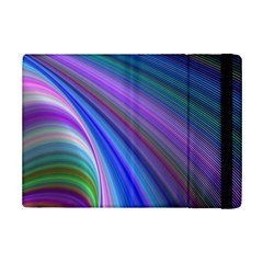 Background Abstract Curves Ipad Mini 2 Flip Cases