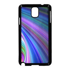 Background Abstract Curves Samsung Galaxy Note 3 Neo Hardshell Case (black)