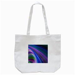 Background Abstract Curves Tote Bag (white)