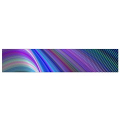 Background Abstract Curves Small Flano Scarf