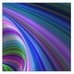 Background Abstract Curves Large Satin Scarf (square)