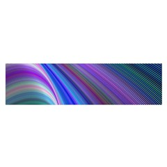 Background Abstract Curves Satin Scarf (oblong)