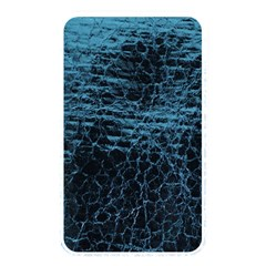 Blue Black Shiny Fabric Pattern Memory Card Reader