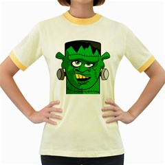 Buy Me A Coffee Halloween Women s Fitted Ringer T Shirts