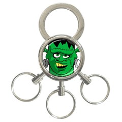 Buy Me A Coffee Halloween 3 Ring Key Chains