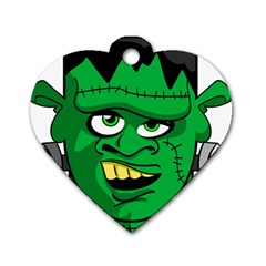Buy Me A Coffee Halloween Dog Tag Heart (two Sides)