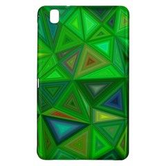 Green Triangle Background Polygon Samsung Galaxy Tab Pro 8 4 Hardshell Case