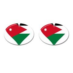 Heart Love Affection Jordan Cufflinks (oval)