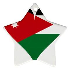 Heart Love Affection Jordan Star Ornament (two Sides)