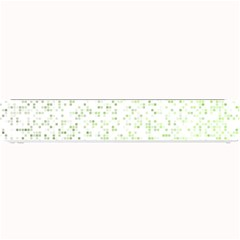Green Square Background Color Mosaic Small Bar Mats