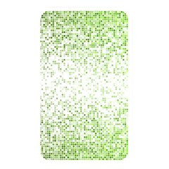 Green Square Background Color Mosaic Memory Card Reader
