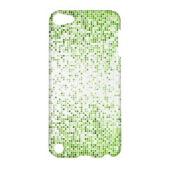 Green Square Background Color Mosaic Apple Ipod Touch 5 Hardshell Case