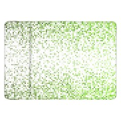Green Square Background Color Mosaic Samsung Galaxy Tab 8 9  P7300 Flip Case