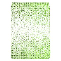 Green Square Background Color Mosaic Flap Covers (s)