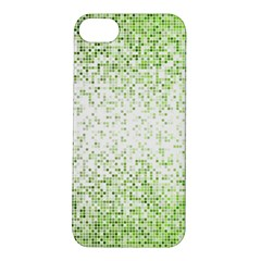 Green Square Background Color Mosaic Apple Iphone 5s/ Se Hardshell Case