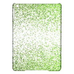 Green Square Background Color Mosaic Ipad Air Hardshell Cases