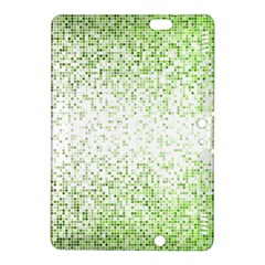 Green Square Background Color Mosaic Kindle Fire Hdx 8 9  Hardshell Case