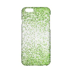 Green Square Background Color Mosaic Apple Iphone 6/6s Hardshell Case