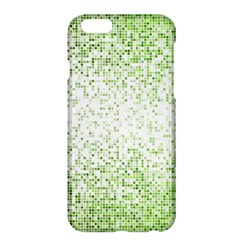 Green Square Background Color Mosaic Apple Iphone 6 Plus/6s Plus Hardshell Case