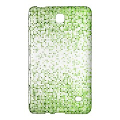 Green Square Background Color Mosaic Samsung Galaxy Tab 4 (8 ) Hardshell Case