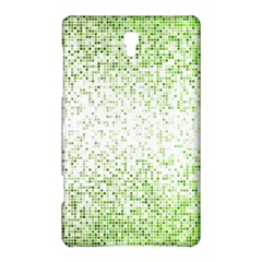 Green Square Background Color Mosaic Samsung Galaxy Tab S (8 4 ) Hardshell Case
